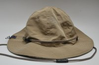 "meanswhile ミーンズワイル ""Ventile/Cotton Birds Eye Reversible Hat""   col.BEIGE"