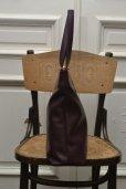 """画像3: TSATSAS """"LUCID NINETY L"""" Leather Shoulder / Hand Bag  col.BURGUNDY"""