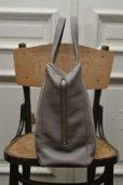 """画像4: TSATSAS """"COEN"""" Leather Shoulder / Hand Bag  col.GREY"""