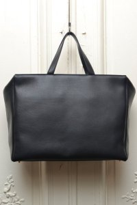"TSATSAS ツァツァス ""COEN"" Leather Shoulder / Hand Bag  col.BLACK"