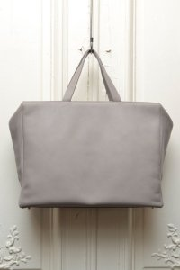 "TSATSAS ツァツァス ""COEN"" Leather Shoulder / Hand Bag  col.GREY"
