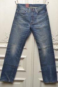 "LEVI'S VINTAGE CLOTHING リーバイスヴィンテージクロージング ""501ZXX 1954 "" 加工ジーンズ   col.indigo"