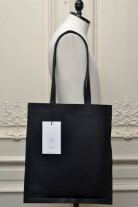 "TSATSAS ツァツァス ""STRATO"" Leather Tote Bag  col.BLACK"