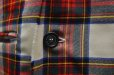 "画像2: Lucio Vanotti ""Plaid Check Double breasted Sleeveless Jacket"" col.Navy Base (2)"