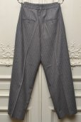 "画像3: Lucio Vanotti ""Stripe Wide Easy Trousers"" col.Taupe"