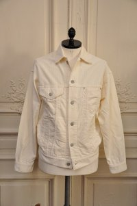 "YOUNG&OLSEN The DRYGOODS STORE ""STAR CORDS JACKET""   col.WHITE"