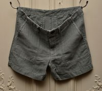"Tapia Los Angeles ""Front Patch Pocket Short-Garment Dyed"""