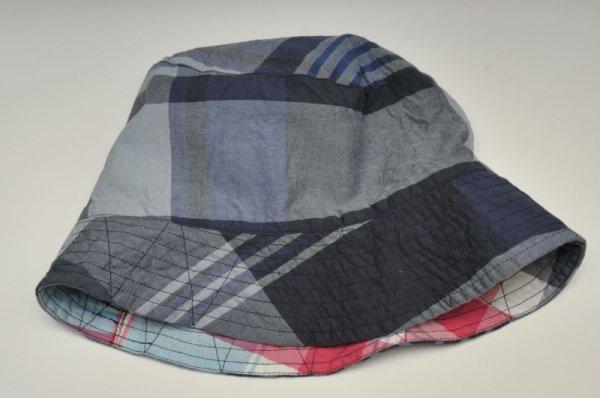 """画像2: Engineered Garments """" Bucket Hat - BIG PLAID """" col.NAVY"""