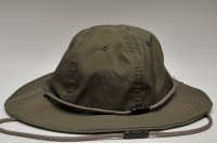 "meanswhile "" Ventile / Cotton Birds Eye Reversible Hat "" col.KHAKI"