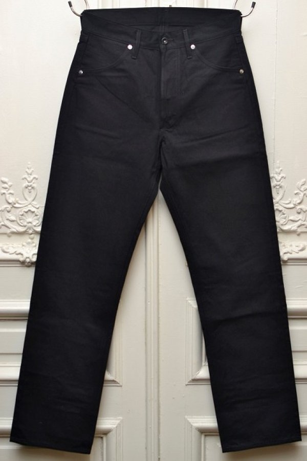 "画像1: TUKI "" duck tail pants - high count denim "" col.blue black (99)"