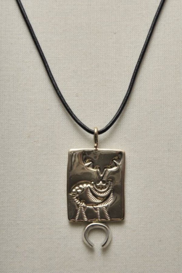 "画像1: HACKNEY CARRIERS ""DEER PENDANT"""