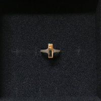 "ROOCH "" signet ring - rectangle """