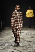 "画像7: Lucio Vanotti "" Plaid Check Double breasted Sleeveless Jacket "" col.Navy Base"