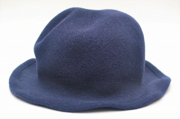 "画像1: SCHA "" Derby + wool hat with a pliable wire "" col.blue"