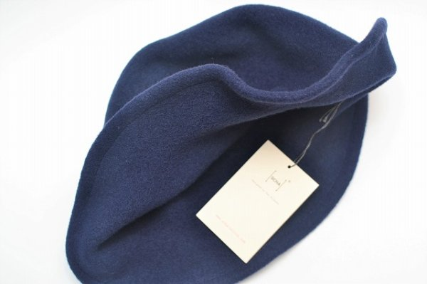 "画像3: SCHA "" Derby + wool hat with a pliable wire "" col.blue"