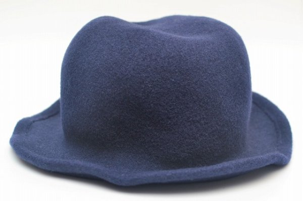 "画像2: SCHA "" Derby + wool hat with a pliable wire "" col.blue"