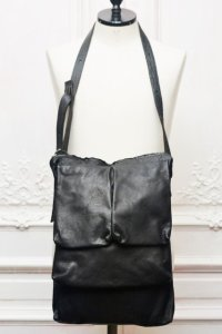 "m.a+ "" 3POCKET MESSENGER BAG "" col.BLACK"