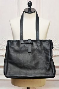 "m.a+ "" IRON RIM MEDIUM DOCTORS BAG "" col.BLACK"