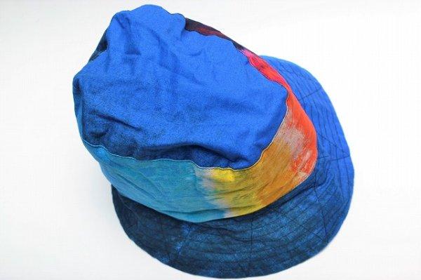 """画像3: Engineered Garments """" Bucket Hat - Sunset Burst """" col.Blue"""