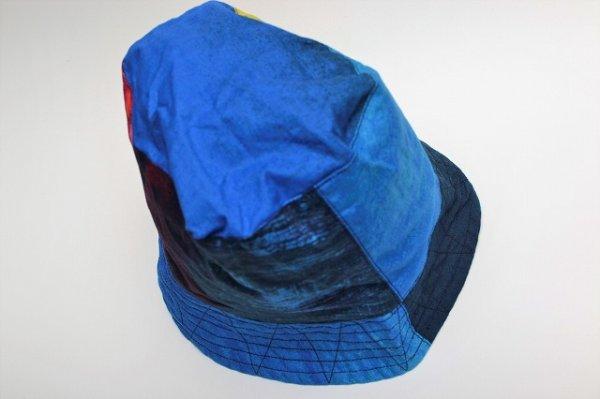"""画像4: Engineered Garments """" Bucket Hat - Sunset Burst """" col.Blue"""
