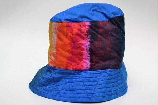 """画像1: Engineered Garments """" Bucket Hat - Sunset Burst """" col.Blue"""