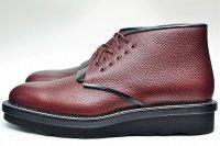 "COURTLEY&SONS ""CS03 DESERT BOOTS"" col.BORDEAUX / BLACK"