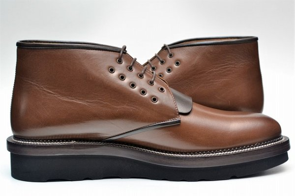 "画像2: COURTLEY&SONS ""CS03 DESERT BOOTS(BUFFALO)"" col.TEAK / BROWN"