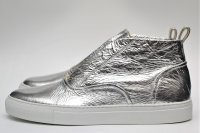 "SARTORE "" Hi-CUT LEATHER SNEAKER "" col.SILVER"
