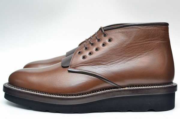 "画像1: COURTLEY&SONS ""CS03 DESERT BOOTS(BUFFALO)"" col.TEAK / BROWN"