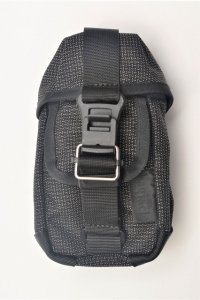 "Bagjack "" TCL HNTR Pouch / Hook - grid "" col.gray (139C)"