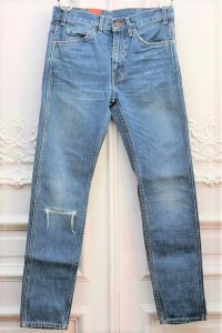 "LEVI'S VINTAGE CLOTHING ""606 1969 Hank - 加工ジーンズ"" col.INDIGO"
