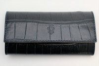 "Felisi  ""921/SA Key Case - Embossed Crocodile""   col.BLUE"