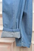 "画像7: 69 "" SUIT TROUSERS "" col.MEDIUM WASH DENIM"