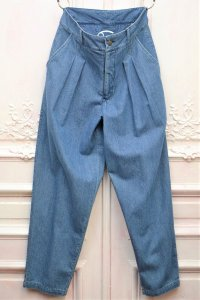 "69 "" SUIT TROUSERS "" col.MEDIUM WASH DENIM"