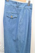 "画像6: 69 "" SUIT TROUSERS "" col.MEDIUM WASH DENIM"