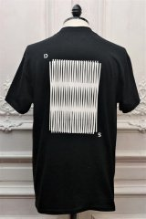 """DREAMLAND SYNDICATE """" Moire  S/S Tee """" col.Black"""