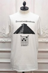 """DREAMLAND SYNDICATE """" Thee Seven  S/S Tee """" col.White"""