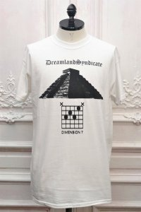 "DREAMLAND SYNDICATE "" Thee Seven  S/S Tee "" col.White"
