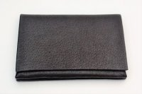 "m.a+ "" LARGE WALLET "" col.PIG LEATHER WINE(DARK)"