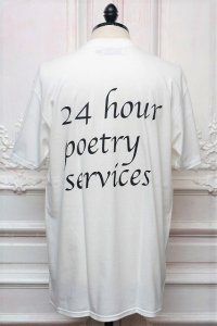 """DREAMLAND SYNDICATE """" Poetrys S/S Tee """" col.White"""