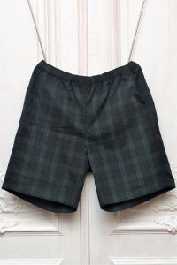 "MITMOS MITMOR  "" cool max short pant "" col.BLACK/GREEN"