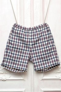 "MITMOS MITMOR  "" cool max short pant "" col.NAVY/RED/WHITE"