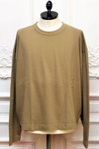 "WILLY CHAVARRIA "" L/S Oversized BUFFALO TEE "" col.OLIVE"