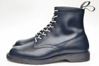 "foot the coacher "" S.S. BOOTS - PLANE TOE "" col.NAVY"