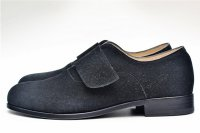 "Martegani "" SOFT SUEDE OXFORD-STRAP "" col.BLACK"