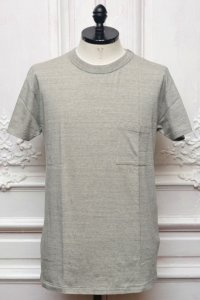 "YOUNG&OLSEN The DRYGOODS STORE "" Normal Pocket Tee "" col.HEATHER"