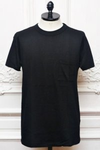 "YOUNG&OLSEN The DRYGOODS STORE "" Normal Pocket Tee "" col.BLACK"