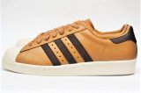 "adidas originals "" SUPERSTAR 80s WT "" col.Mesa/Brown/Chalk White"