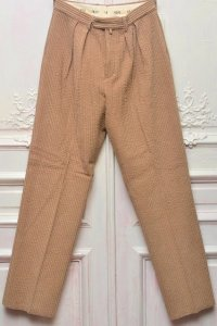 "NEAT "" Salt Shrinkage Treatment Jumbo Corduroy Pants - Wide "" col.BEIGE"