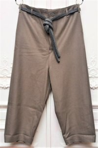 "toogood "" THE SCULPTOR TROUSER - FELTED LAMBSWOOL HW "" col.MUD"